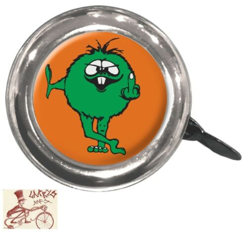 CLEAN MOTION SWELL GREEN FUZZ BICYCLE BELL