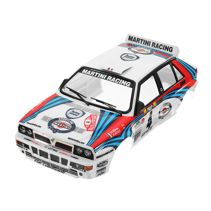 Killerbody Coche Shell 48248 Lancia Delta Rally-Racing Printed 1 10 Electric Touri