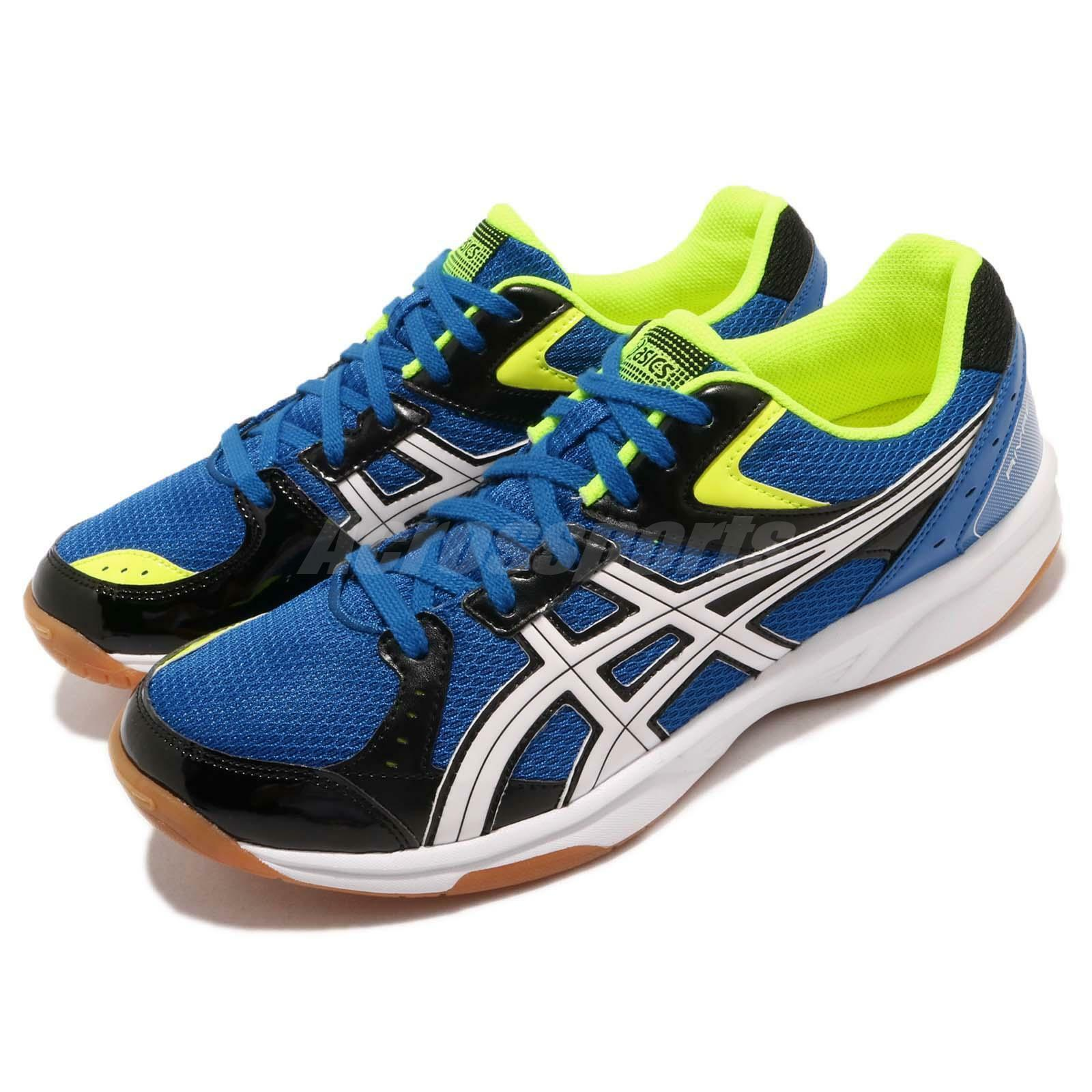 Asics Rivre CS azul blanco Gum Mens Volleyball Badminton zapatos TVRA03-400