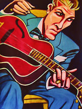 EDDIE CONDON PRINT poster jazz gibson tenor guitar town hall classic sessions cd