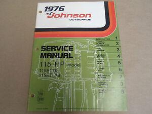 1976 Johnson outboard manual