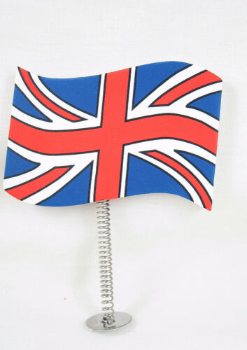 Union Jack GB UK Ribbon Ball Car Aerial Antenna Topper /& desk  pencil topper new