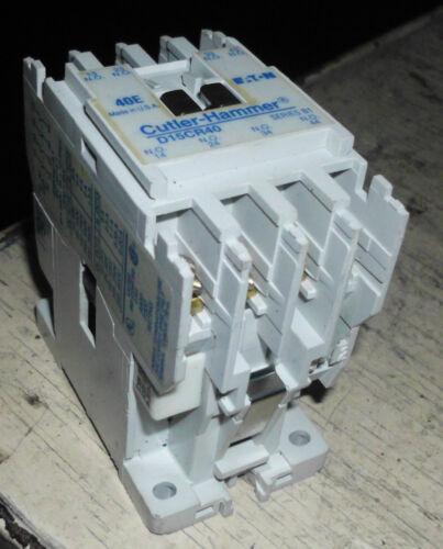 WARRANTY # D15CR40 Series B1 Cutler Hammer Multiport Relay Used