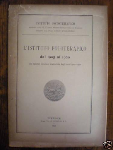 (medicina) L'istituto Fototerapico Dal 1905 Al 1920 Fornire Servizi Per Le Persone; Rendere La Vita Più Facile Per La Popolazione