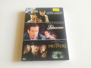 COFANETTO 3 DVD - BUTCH CASSIDY - LO SPACCONE - ERA MIO PADRE - OTTIME CONDIZ.