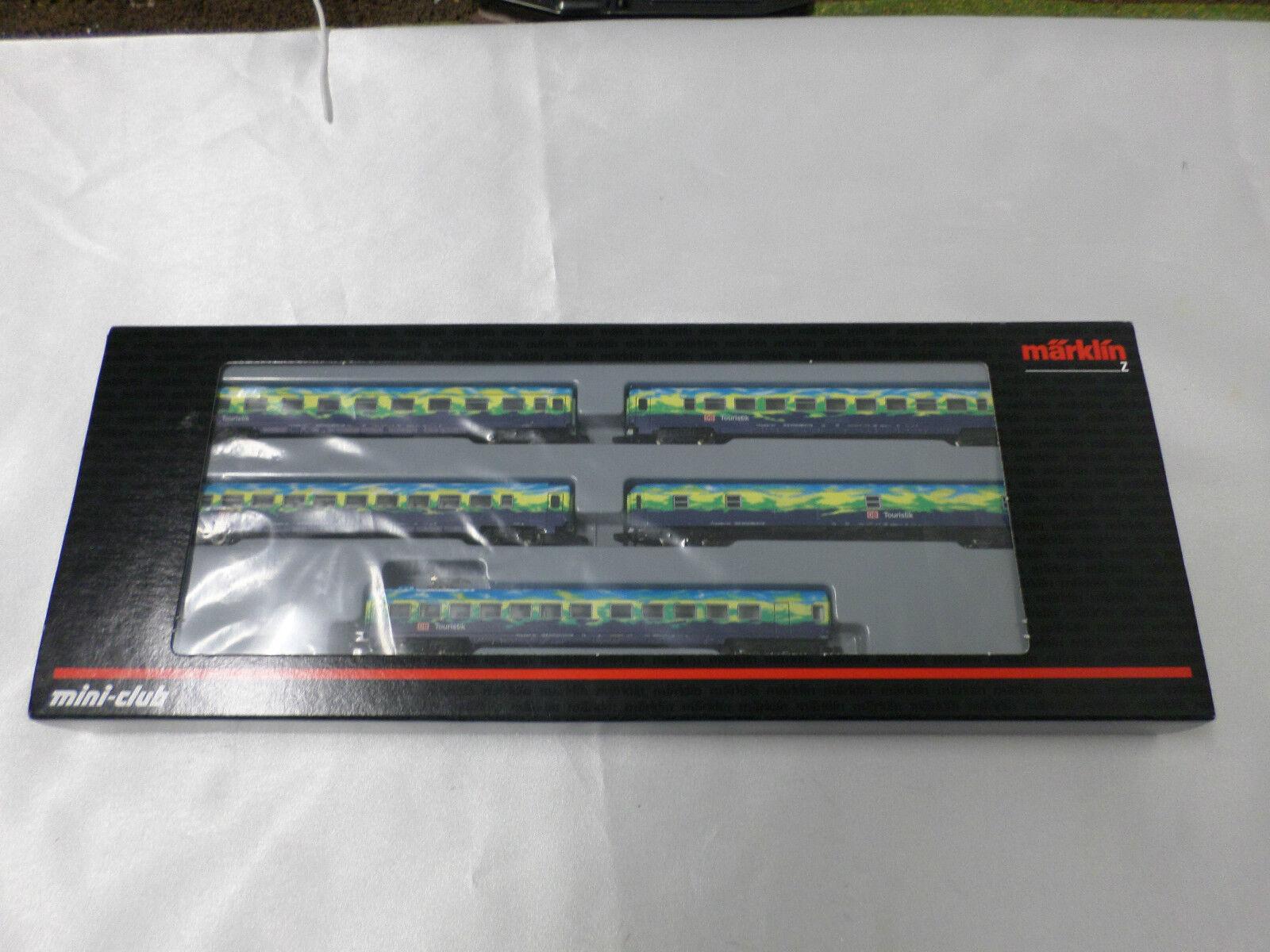 Marklin 87303 Passenger car set, Z gauge