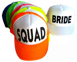 Team Bride Snapback Trucker Hat Cap Bachelorette Party Girls Weekend Wedding