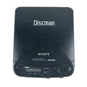 SONY DISCMAN D-121 PORTABLE COMPACT CD PLAYER MEGA BASS BLACK 1bit DAC HG11