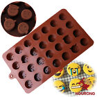Silicone Emoji Expression Chocolate Mold Cake Candy Fondant Sugar Jelly Moulds