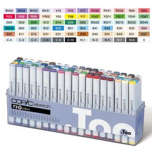Original-COPIC-Sketch-72-Color-Set-B-Markers-72-B-SET