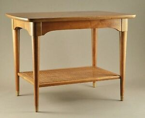 Rare B P John of Portland Ore End Table Mid Century Modern Beauty