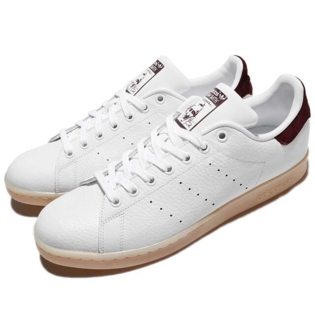 a75ea73a2097 adidas Originals Stan Smith White Bordeaux Gum Men Shoes Sneakers BZ0487