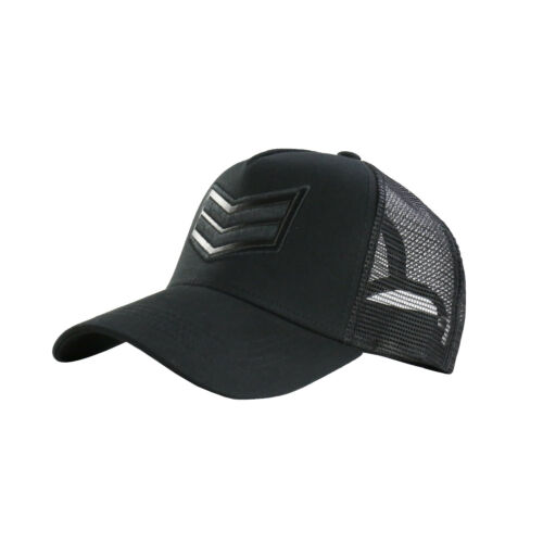 Men/'s Arrow Printed Snapback Mesh Trucker Hat Baseball Cap Black One Size