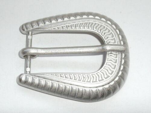 Gürtelschnalle Schließe Schnalle Verschluss  2 cm silbermatt  NEU rostfrei #979#