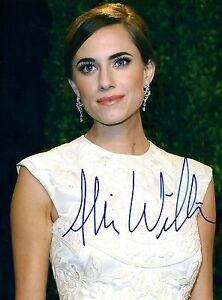 Allison Williams Signé 8x10 Photo - en Personne Proof - Filles- Get Out TtUe29hd-08045558-385884250
