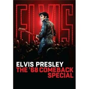 ELVIS-PRESLEY-The-039-68-Comeback-Special-2-LIMITED-SOUVENIER-COASTERS-DVD-NEW