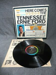 Here Comes The Tennessee Ernie Ford Mississippi Showboat~CAPITOL T-1684