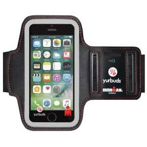 huge selection of 788b9 1da31 Details about Yurbuds IronMan Soft Neoprene Reflective Adjustable Armband  for iPhone 5C