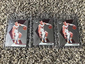 Lot Of 3 2019-20 Panini Prizm Mosaic Tyler Herro Rookie Card RC NBA Pack Fresh
