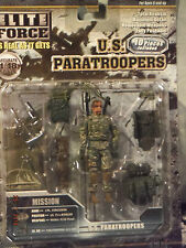 Action Figure 1/18 BBI Paratroopers Cpl Fergusson US 75th Ranger - Elite Force