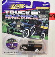 Johnny Lightning Truckin' America Blue 1959 Chevy El Camino