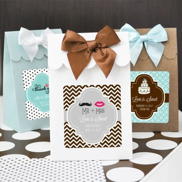 Asst. Candy Box Bags Wedding Favor (Bride Groom Heart Beach Cake Butterfly)