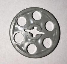 4 x LEGO TECHNIC OldGray pieces ref 4185 wedge belt wheel TBE