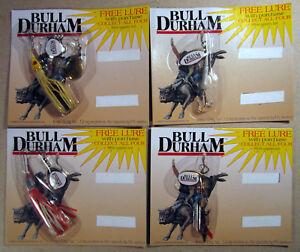 Fishing-Lure-Bull-Durham-Promotion-1999-Commonwealth-Brands-Cigarette-Promo-Set