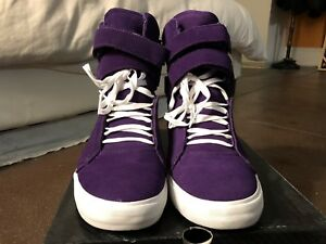 edf2f0756d60 Image is loading Supra-TK-Society-Purple-Suede-Terry-Kennedy-US-