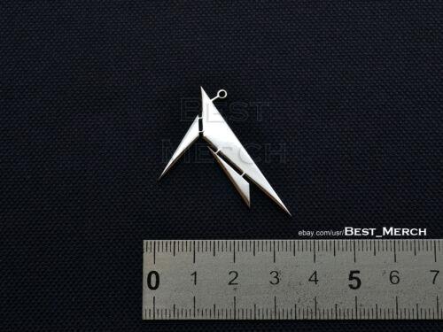 Machinae Supremacy Collier en acier inoxydable parodique Pendentif Merch logo symbole