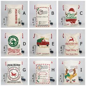 Large-Canvas-Merry-Christmas-Santa-Sack-Xmas-Stocking-Reindeer-Gift-Storage-Bag