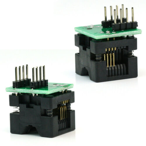 Universal SOIC SO8 SOP8 to DIP8 EZ Programmer Adapter Socket Converter Module ne