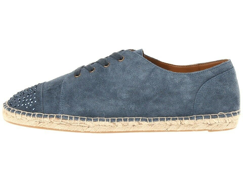 Damenschuhe Schuhes Nine West Soft OHWEEOH Lace-Up Espadrille Fashion Sneakers Soft West Denim 428c7d
