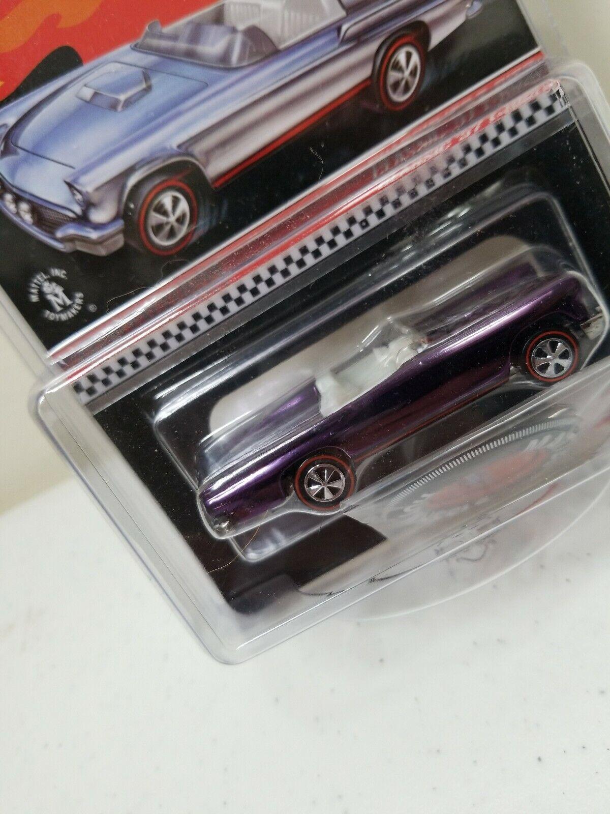 Hot Wheels Classic Classic Classic 57 T Bird Club Exclusive 4da4d2
