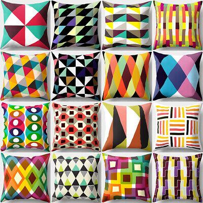 HD/_ JW/_ ITS KQ/_ Plush Square Pillow Case Sofa Waist Throw Cushion Cover Home De