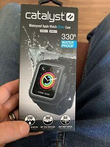 Genuine Catalyst Waterproof Case for 42mm Apple Watch Series 2/3 Black