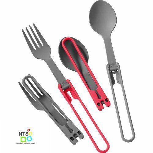 MSR 4-Piece Spoon and Fork Utensil Set for Outdoor Cooking