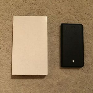 Montblanc-Meisterstuck-iPhone-6-6S-Flipside-caso-articolo-no-117015-RRP-195-00