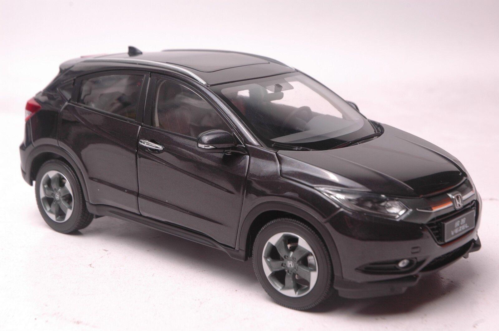 Honda Vezel 2014 véhicule utilitaire sport modèle à l'échelle 1 18 Noir