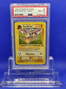Aerodactyl-Holo-PSA-8-NM-MT-1999-Fossil-1-Pokemon