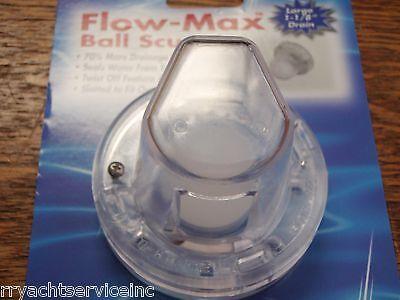 T-H Marine Flow Max Ez Clean Ball Scupper Fms10Dp