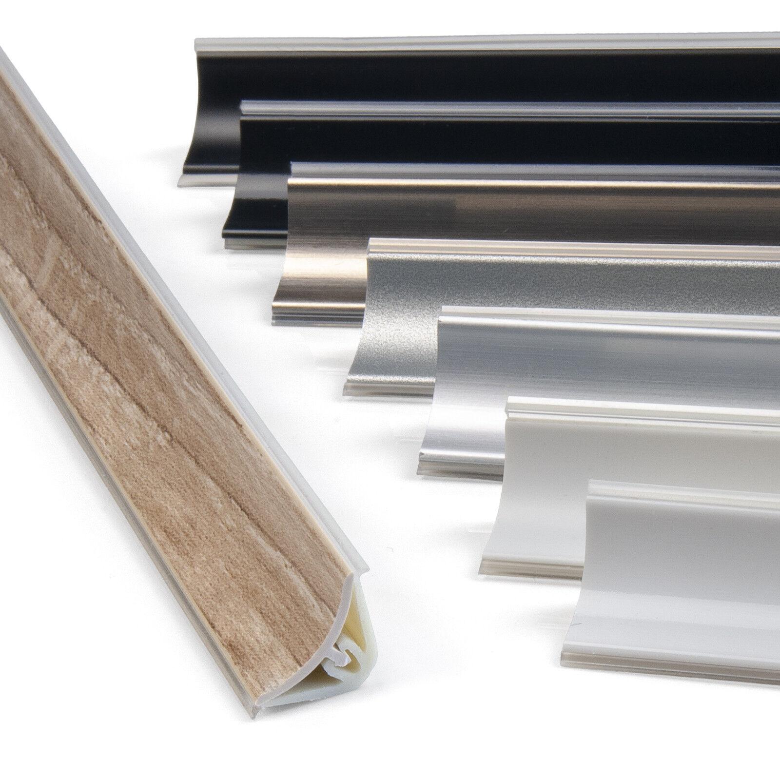 Abschlußleisten 13x13 Leisten für Arbeitsplatte Küche Winkelleiste 1,5m & 3m