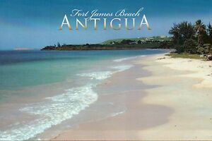 Image Is Loading Fort James Beach Antigua West Ins Caribbean Paradise