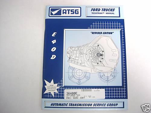 E40D E4OD Technical Manual