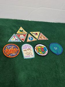 Girl-Scout-Patches-iron-On-Tune-In-Activities-Triangle-Circular