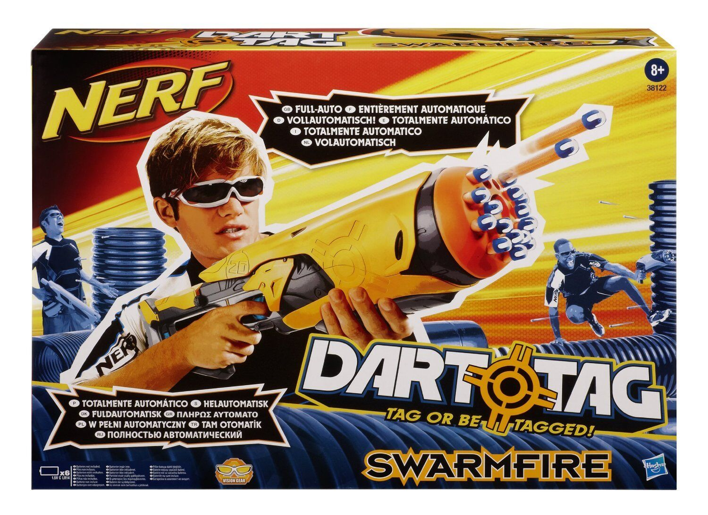 Nueva Marca Nerf Dart Tag Swarmfire Dart Blaster Raro
