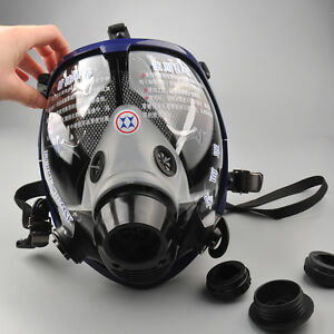 Festive & Party Supplies For 6800 Silicone Gas Mask Full Facepiece Respirator Painting Grey Full Face Spraying Mask Anti Dust