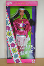 1994 Special Edition Playline Dolls Of The World NATIVE AMERICAN Barbie