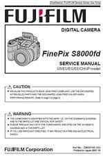 Fujifilm Finepix S8000fd Manual de servicio de reparación