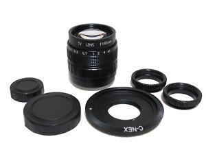 Fujian-50mm-F1-4-CCTV-Movie-Cine-Lens-w-C-NEX-to-Sony-NEX-NEX3-NEX5-NEX7-NEX-5C